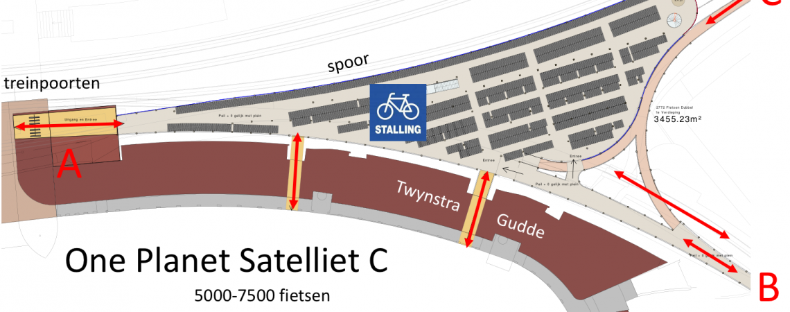 Bicycle park Satellite-C